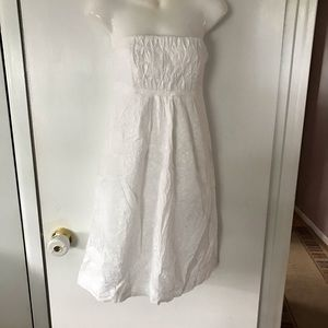 White Strapless Lily Pulitzer Dress